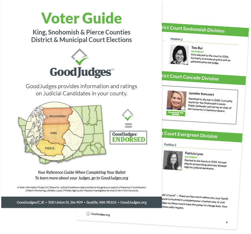 Good Judges Guide